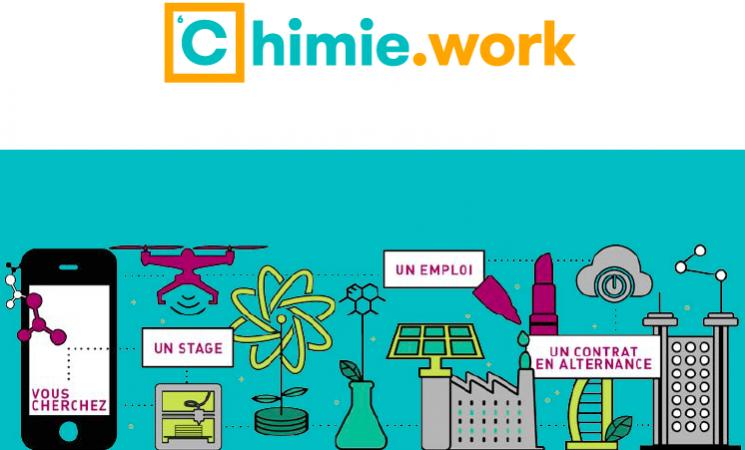 Un site dédié à l'emploi dans la chimie