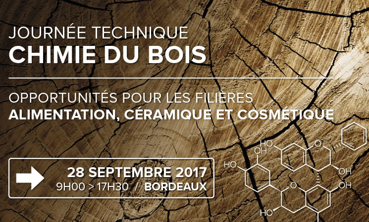 Journée technique Chimie du bois ⎜ Inscription
