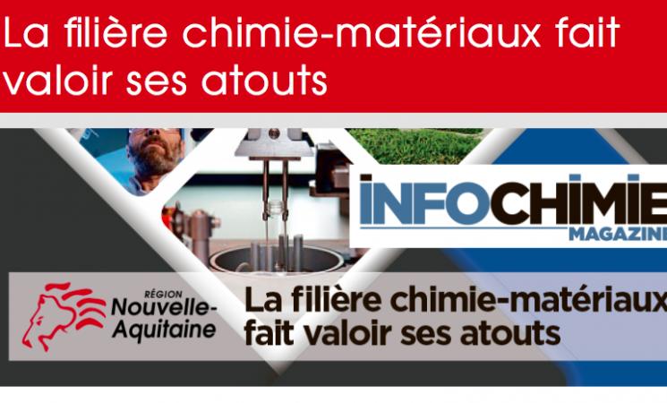 Nouvelle-Aquitaine: La filière chimie-matériaux fait valoir ses atouts