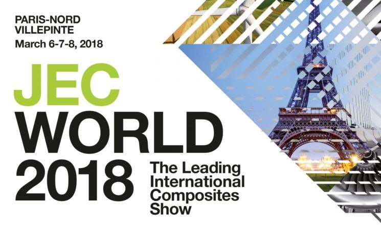 ACD sera présent, du 06 au 08 mars, au salon JEC World 2018 à Villepinte