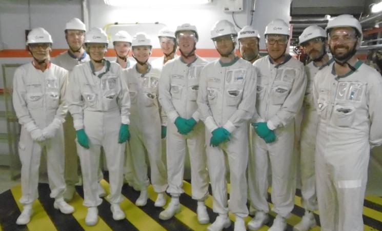 Visite de la Centrale Nucléaire du Blayais
