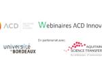 ACD Innovation lance des webinaires