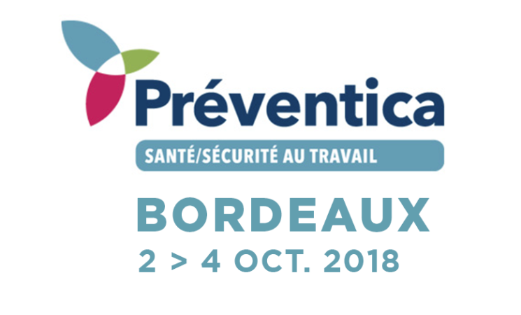 2-3-4.10.2018 - Salon Preventica - Bordeaux