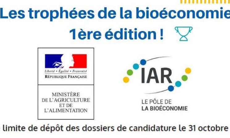 Participez à la première édition des trophées de la bioéconomie