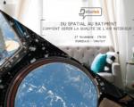 27.11.2018 - BORDEAUX : Du spatial au bâtiment : comment gérer la qualité de l'air en espace clos