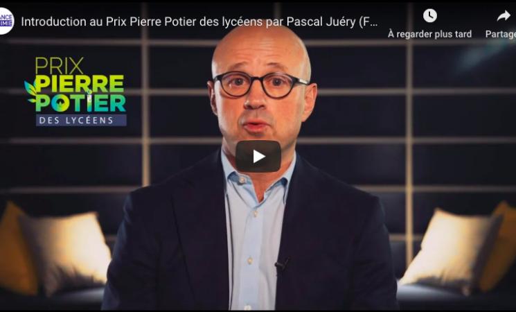 Première édition du Prix Pierre Potier des Lycéens