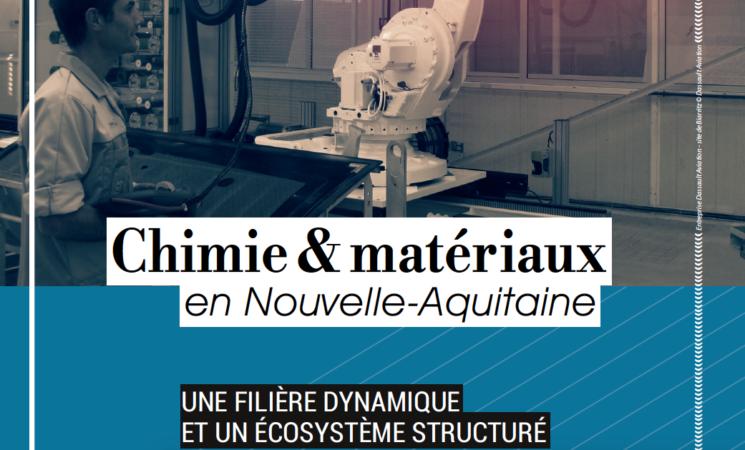 Plaquette Chimie & Matériaux en Nouvelle-Aquitaine