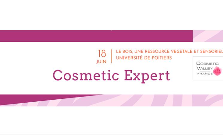 18.06.2019 - POITIERS - Journée Technique Cosmetic Expert « le bois, une ressource végétale, une expérience sensorielle »