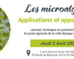 02.04.2020 - Saint-Pée-sur-Nivelle - Les Rencontres ACD Innovation : Les microalgues – applications et opportunités