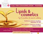 Congrès Lipids&Cosmetics - Appel à conférences