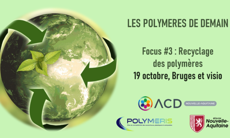 19.10.21 STD Journée Polymères de demain - Focus #3 Recyclage des polymères